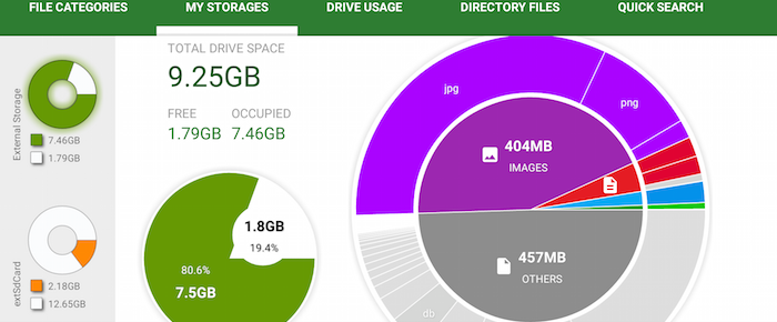 How to view and clean storage on Android